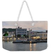 Panoramic View Of Spetses Town Weekender Tote Bag