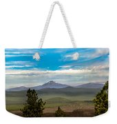 Panoramic View Of The Cascades Weekender Tote Bag
