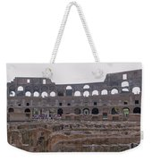 Panoramic View Of The Colosseum Weekender Tote Bag