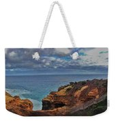 Panoramic View Of The Grotto Weekender Tote Bag