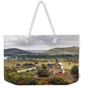 Panoramic View Of The Ile-de-france Weekender Tote Bag