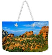Panoramic View, Sedona, Arizona Weekender Tote Bag