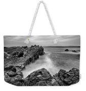 Ballycastle - Pans Rock To Rathlin Island Weekender Tote Bag