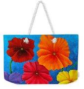 Pansies For Rosalina Weekender Tote Bag