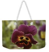 Pansy Beauty Photograph Weekender Tote Bag