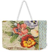 Pansy Garden-b Weekender Tote Bag