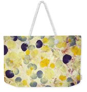 Pansy Petals Weekender Tote Bag by James W Johnson