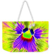 Pansy Power 59 Weekender Tote Bag