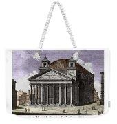 Pantheon Santa Maria Della Rotonda Weekender Tote Bag
