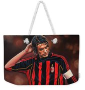 Paolo Maldini Weekender Tote Bag by Paul Meijering