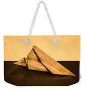 Paper Airplanes Of Wood 2 Weekender Tote Bag