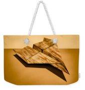 Paper Airplanes Of Wood 5 Weekender Tote Bag