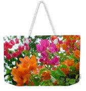 Paper Flower Weekender Tote Bag