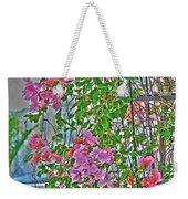 Paper Flowers Weekender Tote Bag