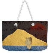 Paper Sail Weekender Tote Bag by Carol Leigh