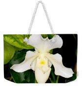 Paphiopedilum Orchid Weekender Tote Bag
