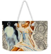 Papillon Art - Una Parisienne Movie Poster Weekender Tote Bag