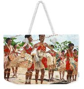 Papua New Guinea Cultural Show Weekender Tote Bag