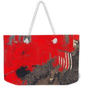 Parade Honoring General Eisenhower On June 29 1945 In New York City Weekender Tote Bag