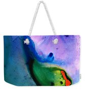 Paradise Found - Colorful Abstract Painting Weekender Tote Bag