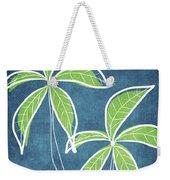 Paradise Palm Trees Weekender Tote Bag by Linda Woods