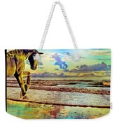 Paradise Sunset Weekender Tote Bag by Betsy Knapp