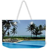 Paradise Vacation Weekender Tote Bag