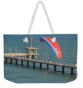 Paraglider Near Bourgas Weekender Tote Bag