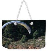 Paragliding Hazards Weekender Tote Bag