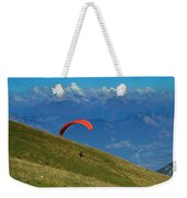 Paragliding In The Mountains Weekender Tote Bag