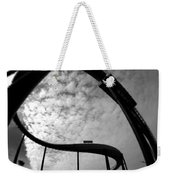 Parallel Lines Composition Weekender Tote Bag