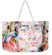 Paramahansa Yogananda Watercolor Portrait Weekender Tote Bag