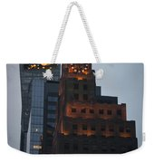 Paramount Building Times Square Weekender Tote Bag