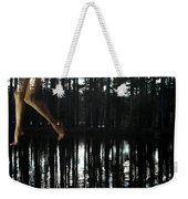 Paranormal Activity Weekender Tote Bag by Donna Blackhall