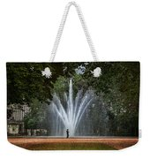 Parc De Bruxelles Fountain Weekender Tote Bag