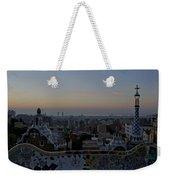 Parc Guell At Sunrise Weekender Tote Bag