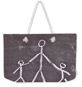 Parent And Children Weekender Tote Bag