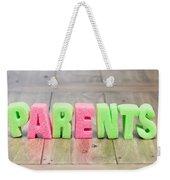 Parents Weekender Tote Bag by Tom Gowanlock