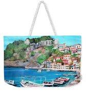 Parga In Greece Weekender Tote Bag