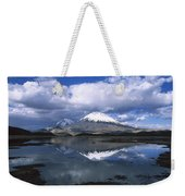 Parincota Lauca National Park Andes Weekender Tote Bag