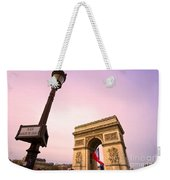 Paris - Arc De Triomphe  Weekender Tote Bag