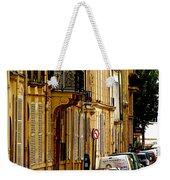 Paris Afternoon Weekender Tote Bag