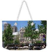 Paris Artist Row Weekender Tote Bag