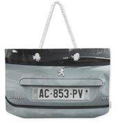 Paris Blue Peugeot Weekender Tote Bag