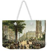 Paris Boulevard, 1859 Weekender Tote Bag