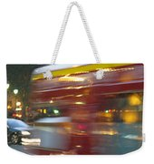 Paris Bus Pont Au Change  Or One Half Step Away From The Hereafter Weekender Tote Bag