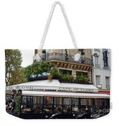 Paris Cafe De Flore - Paris Fine Art Cafe De Flore - Paris Famous Cafes And Street Cafe Scenes Weekender Tote Bag