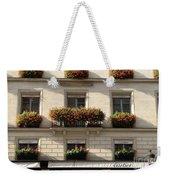 Paris Cartier Window Boxes - Paris Cartier Windows And Flower Boxes - Cartier Paris Building  Weekender Tote Bag