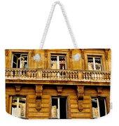 Paris Facade Weekender Tote Bag