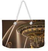 Paris Fountain Weekender Tote Bag